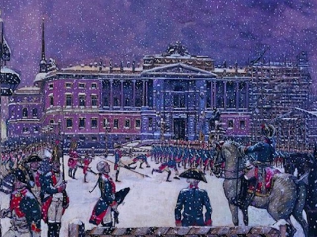 Alexander Benois exhibition in Russian Museum